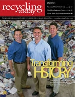 Recycle Today cover story