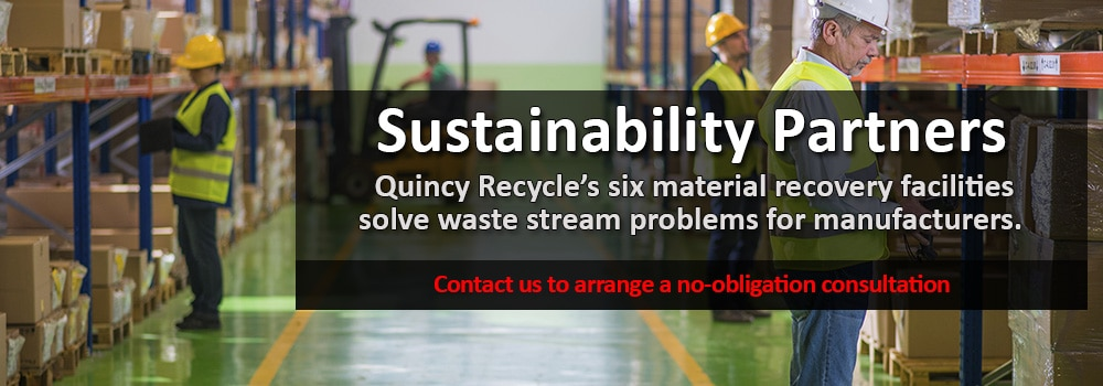 B2B Recycling & Sustainability - Quincy Recycle