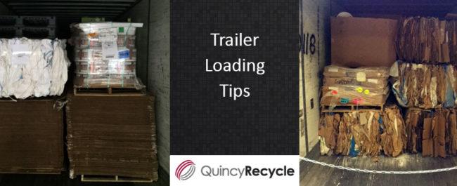 Semi trailer loading tips