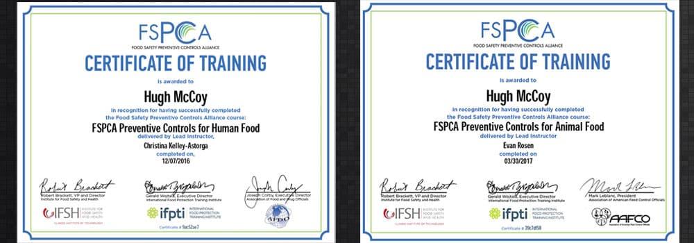 FSPCA-certifications-Hugh-McCoy