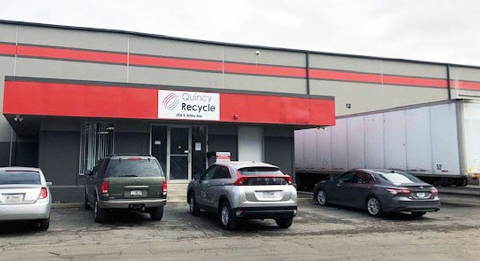 Outside view of Quincy Recycle location in Indianapolis, IN